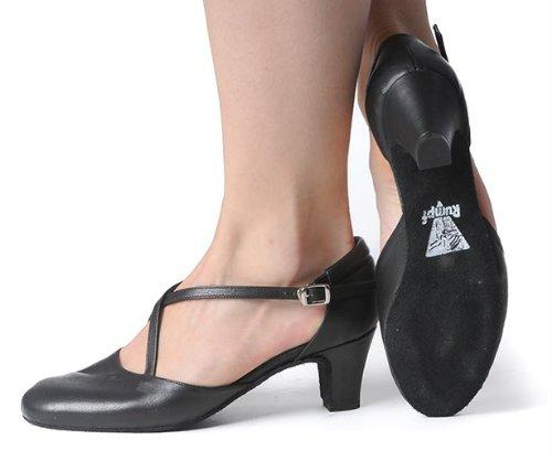 Rumpf Tanzschuhe 2020 Broadway 5,0 cm Absatz schwarz,Schwarz,40 - 6