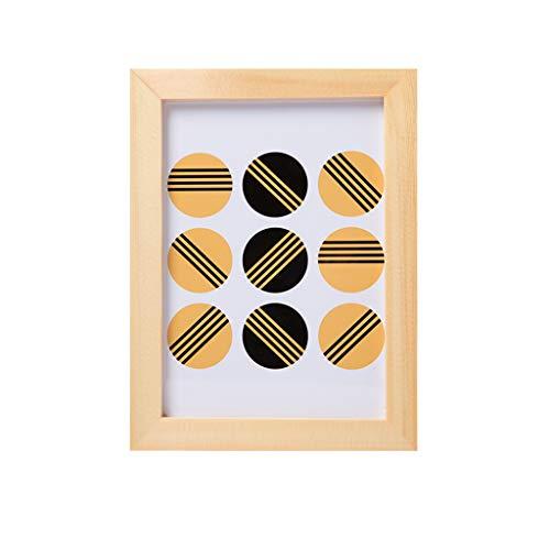 Photo Frame Massivholz Bilderrahmen, große Bilderrahmen Wand hängen Massivholztisch 5 7 10 Zoll einfache Kinder Baby-Fotorahmen -