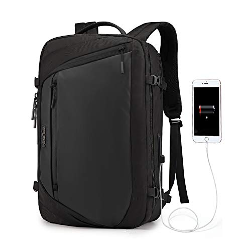 Wind Took Zaino Per PC Portatile Uomo Donna per Computer Portatile con Porta USB Impermeabile Per Ufficio Lavoro e Scuola Business Laptop Backpack