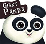 Cutout Board Book: Giant Panda( Animals and Birds) (Cutout Books)