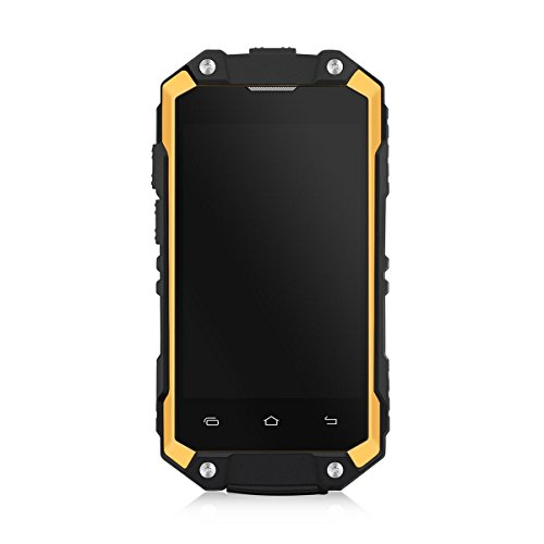 FACAIG @ X 2 mini IP65 wasserdichte Doppelsim Karte quad-core Android 5.1 1G + 8G Handy , Yellow