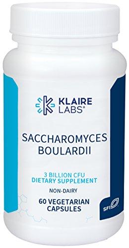 Klaire Labs Saccharomyces Boulardii Veggie Capsules, 60 Count