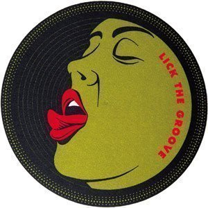 slipmat-Factory Lick the Groove Slipmat, 2 Stück
