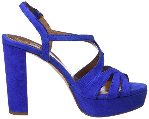PEDRO MIRALLES 18675, Sandales Bout Ouvert Femme Bleu (Bluette)