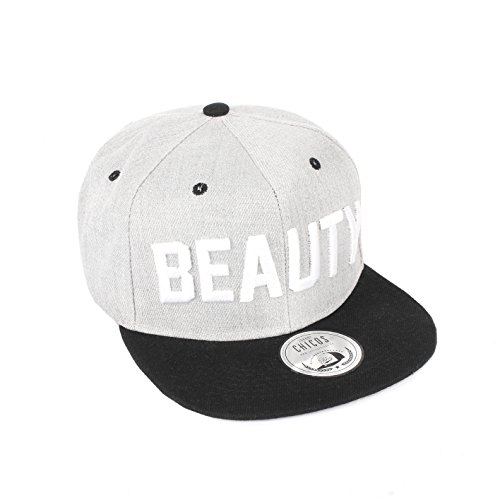 *Cap KING Cap QUEEN ANGEL Cappy DEVIL Snapback BEAUTY Damen BEAST Herren Freundschaft Liebe MR. Paar MRS. Trend Partner Cap (One Size, BEAUTY)*
