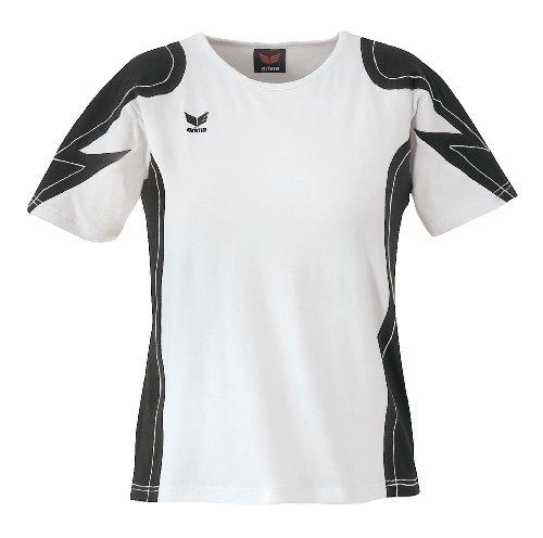 Erima Racing Line T-shirt Femme Noir/Blanc