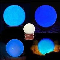 Aliciashouse Bagliore luminoso perla nella perla notte scuro cristallo di