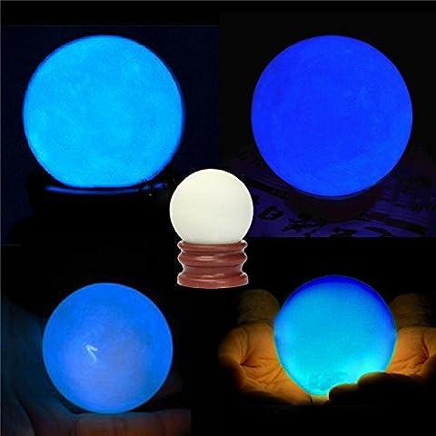 Aliciashouse Luminous Pearl Glow In The Dark Stone Luminous Quartz