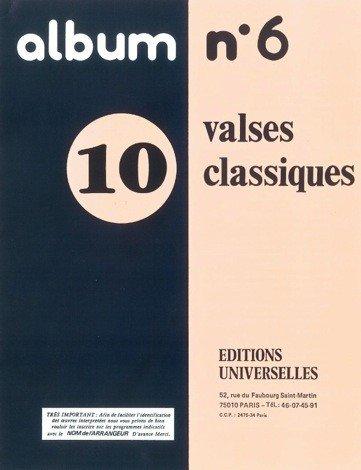 Album N ° 6–10Walzer klassischen