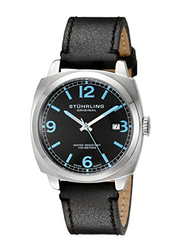 stuhrling-original-herren-armbanduhr-leisure-eagle-square-analog-quarz-451331551