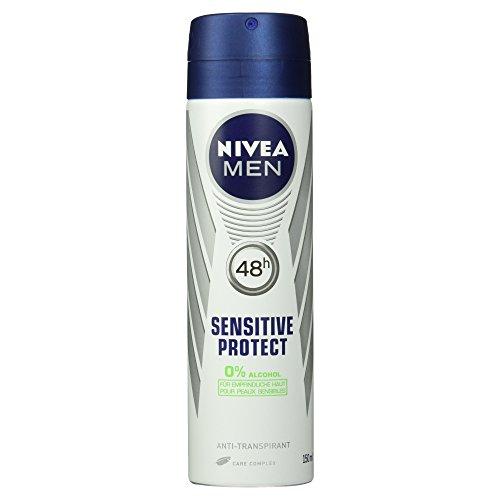 Nivea Men Deo Sensitive Protect Spray, Antitranspirant, 150 ml