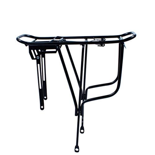 GOFEI Portaequipajes para Bicicleta, con Montaje sobre el Disco de Freno, para Cargas Superior y Laterales