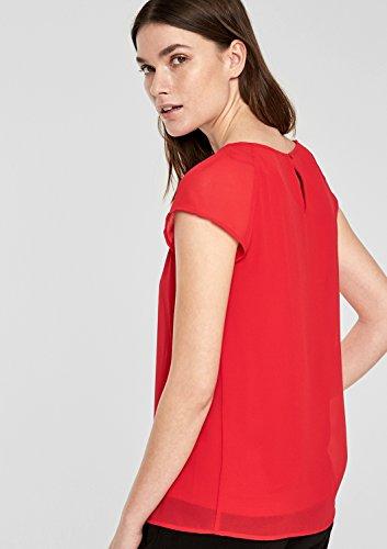 s.Oliver BLACK LABEL Damen T-Shirt adrenalin red