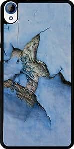 Coque pour Htc Desire 820 - Vieux Bois Bleu