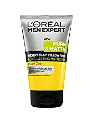 Loreal Men Expert Pure & Matte Desert Cay Yellow Foam 100 ml