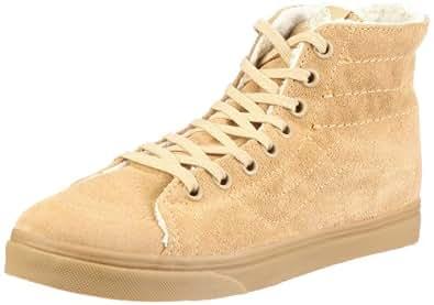 Vans Sk8-Hi D-Lo VL9AL7V, Unisex - Erwachsene Klassische Sneakers, Braun ((FlcLng) lark), EU 35 (US 4)