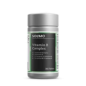 Amazon-Marke: Solimo Nahrungsergänzungsmittel mit Vitamin B-Komplex, 365 Tabletten