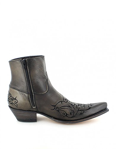 Sendra Boots  7216, Bottes et bottines cowboy mixte adulte Gris - Antracita