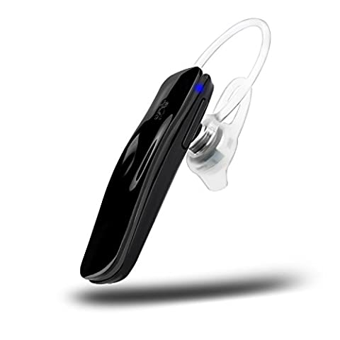 Bluetooth Headset, Wireless Bluetooth Headset Ohrhörer Freisprecheinrichtung In-Ear Kopfhörer Earbud mit Mic Kompatibel mit iPhone Samsung Galaxy Android Smartphones & Tablets