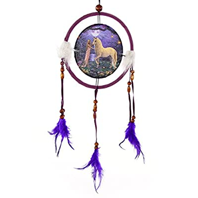 Fantasy Dreamcatcher Print Unicorn Garden, Small