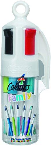 bic-4-colori-family-astuccio-6-penne