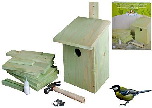 Spielzeug Frank Puzzle Vogelhaus Mit Malerei Werkzeuge Kind Pädagogisches Woodcraft Puzzlespiel