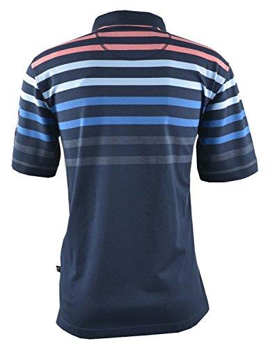 hajo Herren Poloshirt H Polopique Stay Fresh Blau