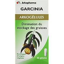 Arkopharma Phytothérapie Standard Arkogélules Garcinia Cambogia Flacon de 45 Gélules