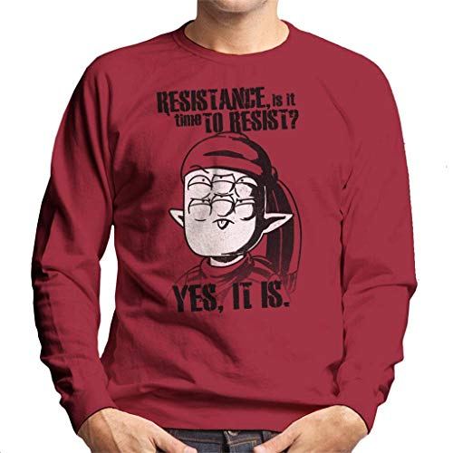 Alien Che Time to Resist Men\'s Sweatshirt
