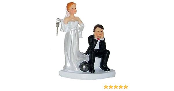 Tischfigur Hochzeitspaar Brautpaar Tortenfigur Dekorationsfigur f/ür die Hochzeit Variante 1