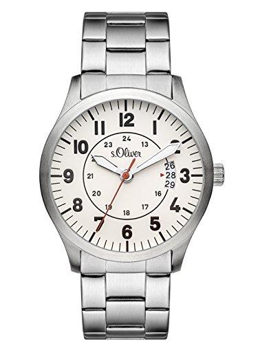 s.Oliver Herren-Armbanduhr SO-3266-MQ