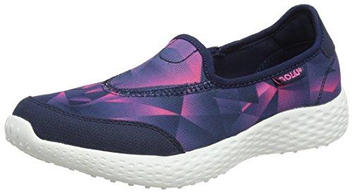 Gola San Luis, Chaussures de Fitness Femme Bleu (Navy/hot Pink/navy)