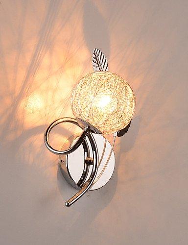 Ling@ Lampade a candela da parete Cristallo/Lampadina