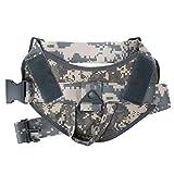 XMTPF Hundegeschirr, Nylon, verstellbar, Militärkleidung