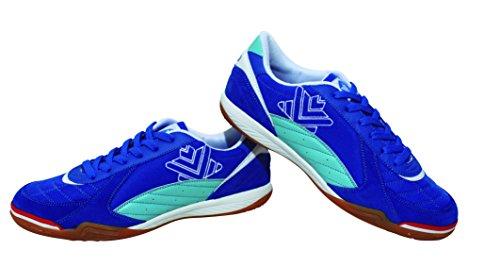 Luanvi FS PRO - Zapatillas de Fútbol Sala, Unisex Adultos, Azul, 40