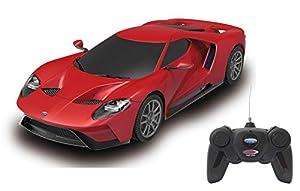 Jamara 405156-Ford GT 1:24 Licencia Oficial Coche de Radio Control Color Rojo 405156