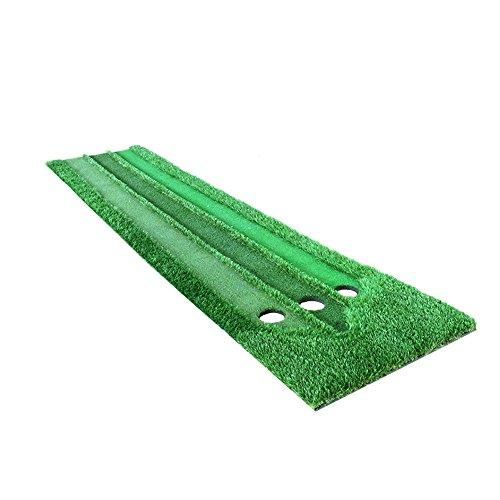 TLMY Golf Putting Practitioner DREI-Geschwindigkeit Gras Putter Praxis Indoor Mini Grünes Gras Golfmatten