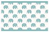 I-love-Wandtattoo Kinderzimmer Bordüre Borte Elefanten Afrika Safari Tapete Kinder selbstklebend