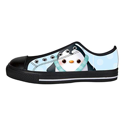 Dalliy pinguin Men's Canvas shoes Schuhe Lace-up High-top Sneakers Segeltuchschuhe Leinwand-Schuh-Turnschuhe C