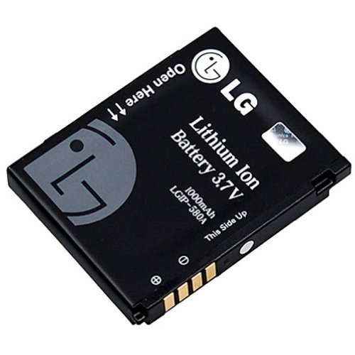 LG Batterie pour LG HB620T, KB770, KC910, KM900 Arena, KU990 Viewty
