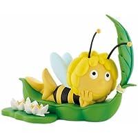 Preisvergleich für Bullyland 43402 - Spardose - Biene Maja auf Blatt, ca. 20 cm