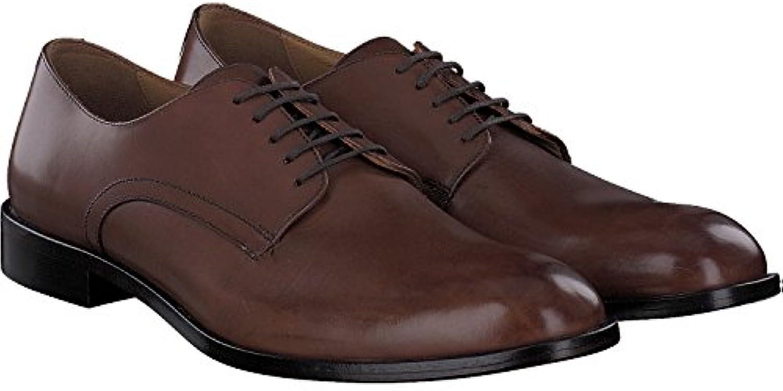 Geox U Saymore C, Zapatos de Cuero con Cordones para Hombre -