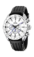 Reloj de caballero FESTINA F16489/1 de cuarzo, correa de piel color negro de Festina