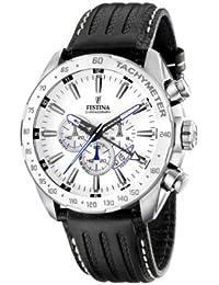 Festina Herren-Armbanduhr XL Chronograph Edelstahl F16489/1