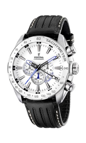 Festina Men's Chrono Watch F16489/1 With Leather Strap