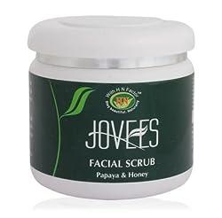 Jovees Papaya & Honey Facial Scrub, 400g