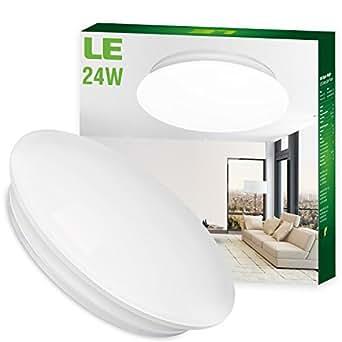 le 24w 41cm kaltwei e led deckenleuchte ersatz f r 180w. Black Bedroom Furniture Sets. Home Design Ideas