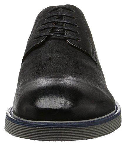 Geox U Damocle C, Derby Homme Noir (Blackc9999)