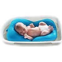 Bebé infantil cojín de baño alfombra, 4EVERHOPE flotante suave bebé almohada de baño/tumbona