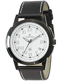 Maxima Attivo Analog White Dial Men's Watch - 22573LMGB